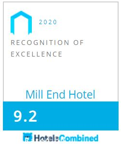 2020 Hotels Combined Recognition of Excellence Award